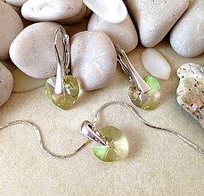 Sady šperkov - Swarovski Srdiečka - 6759837_