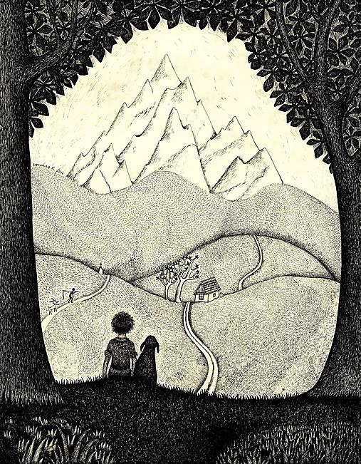 Pohlednice Hora