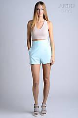 Nohavice - Vintage šortky Anita - acqua |  rôzne farby - 6759255_