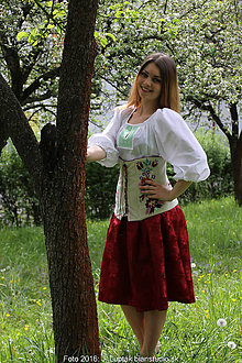 Opasky - korzet Ruženka - 6758504_