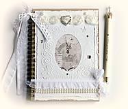 Papiernictvo - Svadobný plánovač-dar na rozlúčku so slobodou 2 - 6759731_