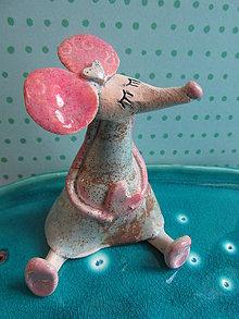 Dekorácie - figúrka - myš - 6758295_