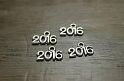 Komponenty - Prívesok 2016 (balíček 10ks) - 6760621_