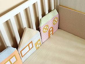 Textil - Domy z Pastelovej ulice - 6760813_