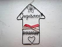 Dekorácie - domček osobný - 6757560_