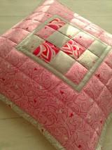 "Úžitkový textil - Vankúš ""pastelka"" :) - 6763372_"