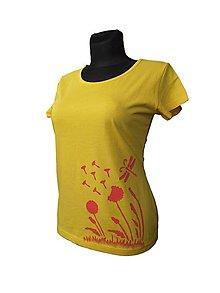 Tričká - tričko maľované - 6763288_