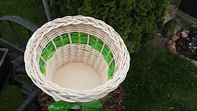 Košíky - Košík s mašličkou - 6762400_