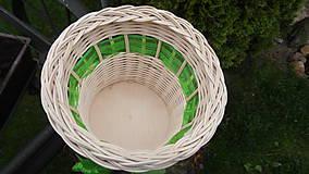 Košíky - Košík s mašličkou - 6762401_