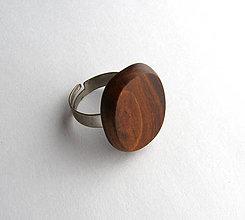 Prstene - Čerešňový oválik - 6761187_