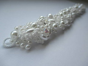 Iné šperky - ozdoba do vlasov - svadobná - 6764462_
