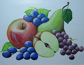Obrázky - Obrázky do kuchyne - Ovocné zátišia - 6764941_