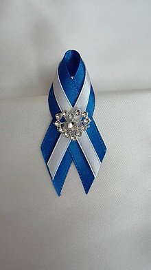 Pierka - Svadobné pierko kráľovská modrá - 6767970_