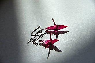 Dekorácie - Nesmírně růžoví jeřábci - 6765702_