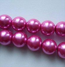 Korálky - Vosk.perly 12mm-1ks (ružová) - 6765834_