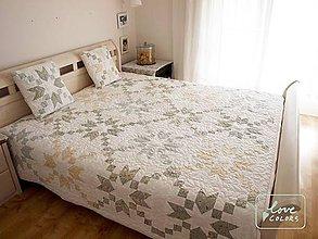 Úžitkový textil - Quilt na manželskú posteľ - 6765293_