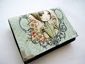 Peňaženky - Mirabella - peněženka i na karty - 6767765_