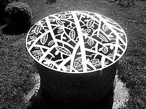 Dekorácie - *Kovová mreža na studňu - 6767852_