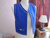 Iné oblečenie - Pánska filcová vesta jednoduchá - 6768455_