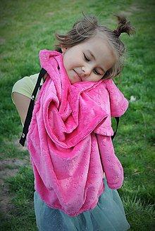 Textil - Dečka celá z minky - 6769521_