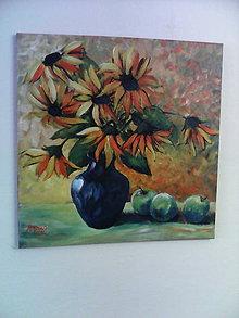 Obrazy - Kvety slnka - 6771288_