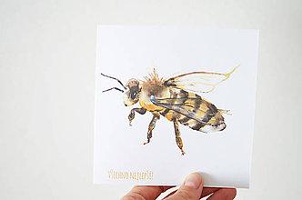 Papiernictvo - Blahoželanie Včela - 6768901_