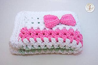 Textil - Detská deka pre princeznú - 6770930_