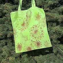 Nákupné tašky - Maľovaná taška - 6768442_