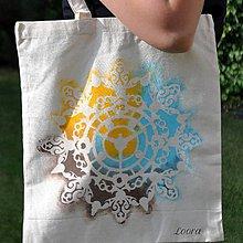 Nákupné tašky - MaĽovaná taška Hodiny - 6768512_
