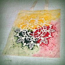 Nákupné tašky - Maľovaná taška Hodiny 1 - 6768513_