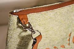 Kabelky - Ani veľká ani malá ľudová kabelka (farebné kombo!)  - 6768140_
