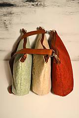 Kabelky - Ani veľká ani malá ľudová kabelka (farebné kombo!)  - 6768144_