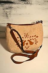 Kabelky - Ani veľká ani malá ľudová kabelka (farebné kombo!)  - 6768145_