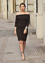 Tuniky - Pohodlné a elegantné šaty Sophie-čierne - 6769722_