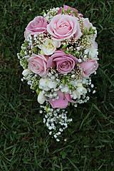 Romantická svadobná kytica