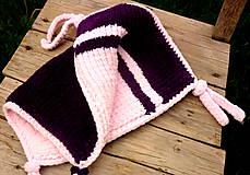Hračky - mojkáčik- ružovo fialový - 6772785_