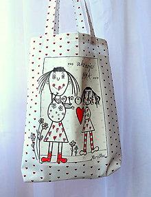 Nákupné tašky - Taška - Ako moja mama (2) - 6772792_