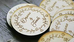 Magnetka pre svadobčanov
