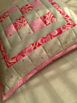 "Úžitkový textil - Jemná""pastelka""vankúš:) - 6773957_"