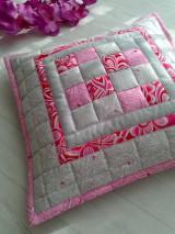 "Úžitkový textil - Jemná""pastelka""vankúš:) - 6773961_"