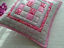 "Úžitkový textil - Jemná""pastelka""vankúš:) - 6773964_"