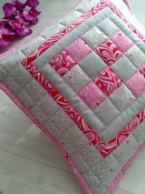 "Úžitkový textil - Jemná""pastelka""vankúš:) - 6773965_"