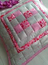 "Úžitkový textil - Jemná""pastelka""vankúš:) - 6773970_"