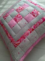 "Úžitkový textil - Jemná""pastelka""vankúš:) - 6773987_"