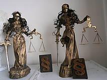 Socha - Justície dvojičky - 6775496_
