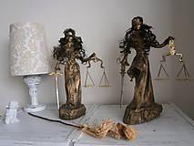 Sochy - Justície dvojičky - 6775498_