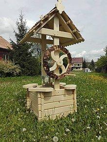 Dekorácie - záhradná studňa 2 - 6774261_