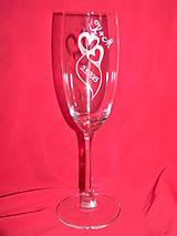 Nádoby - Svadobné poháre + gravirovanie 11 - 6774315_