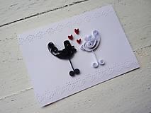 Papiernictvo - svadobné blahoželanie - 6774203_