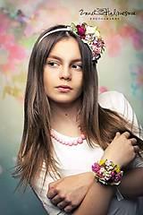 Ozdoby do vlasov - čelenka by michelle flowers - 6777238_